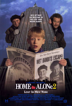 Home Alone 2 promotional poster