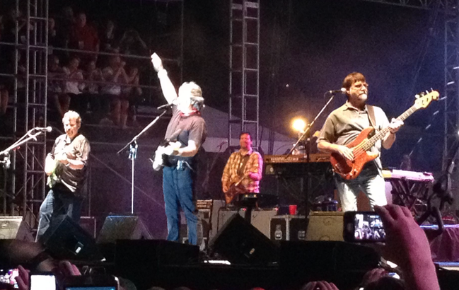 Alabama performs at Bayfest in Mobile, Ala., 2014