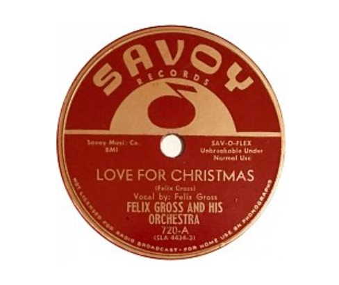 """Felix Gross """"Love for Christmas"""" record"""