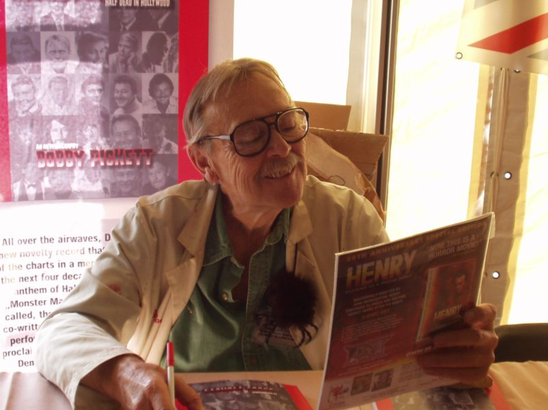 Bobby Pickett at Chiller Theatre horror conference
