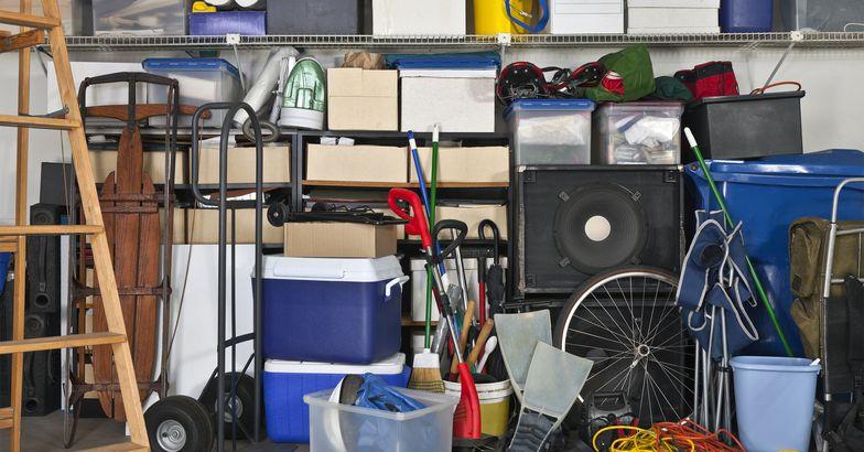 Garage full of items