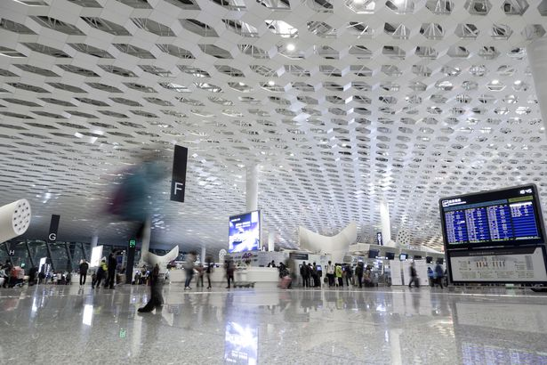 Shenzhen Airport ceiling