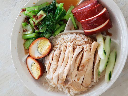 Singapore's Hainanese Chicken Rice