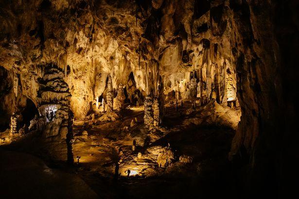 Sloup-Sosuvka Caves