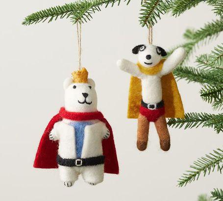 St. Jude's superhero ornaments