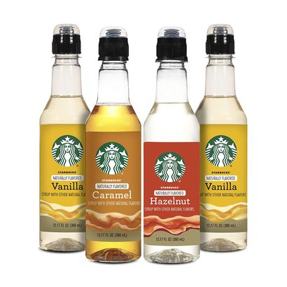 Starbucks syrups