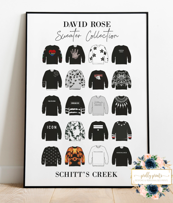 Sweater collection print