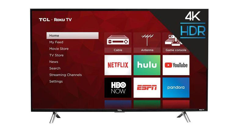 "TCL 43"" Roku Ultra High Definition Smart TV"