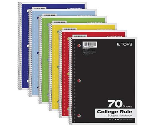 TOPS Notebook
