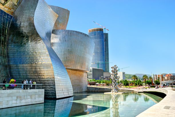 The Guggenheim, Bilbao, Spain