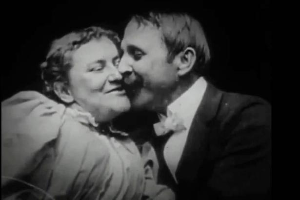 Thomas Edison's 'The Kiss'