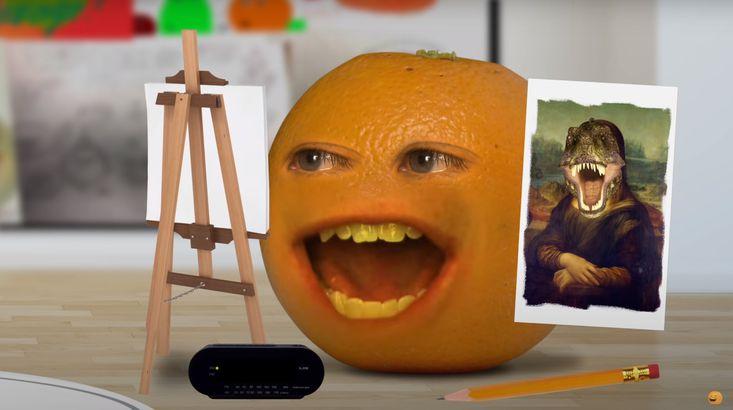 YouTuber Annoying Orange