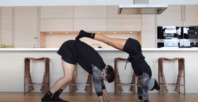 YouTuber Liza Koshy yoga challenge