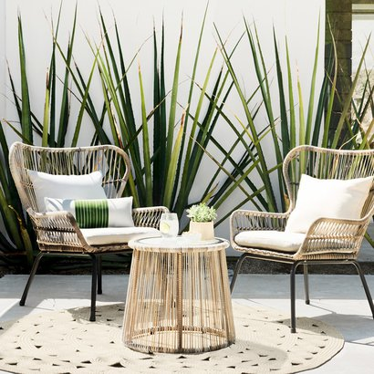 Latigo Wicker Patio Set