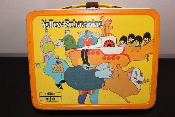 Yellow Submarine Lunchbox