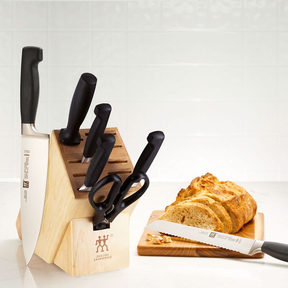 Zwilling J.A. Henckels Four-Star 8-Piece Knife Block Set
