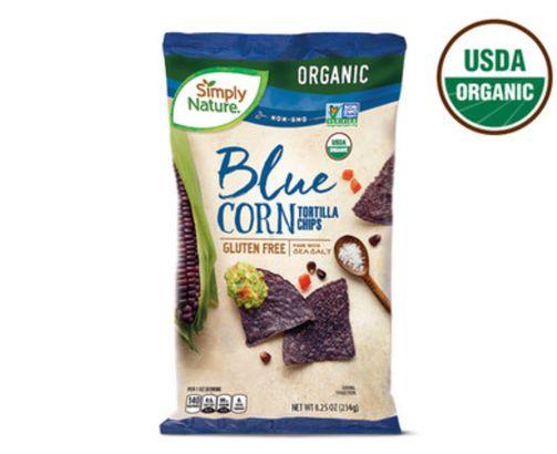 Simply Nature Blue Corn Tortilla Chips