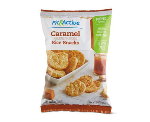 Fit & Active Caramel Rice Snacks
