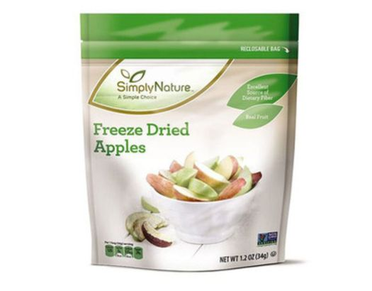 Simply Nature Freeze Dried Apples