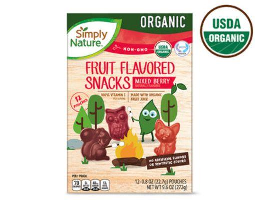 Simply Nature Organic Fruit Snacks