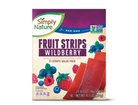 Simply Nature Fruit Strips Wildberry