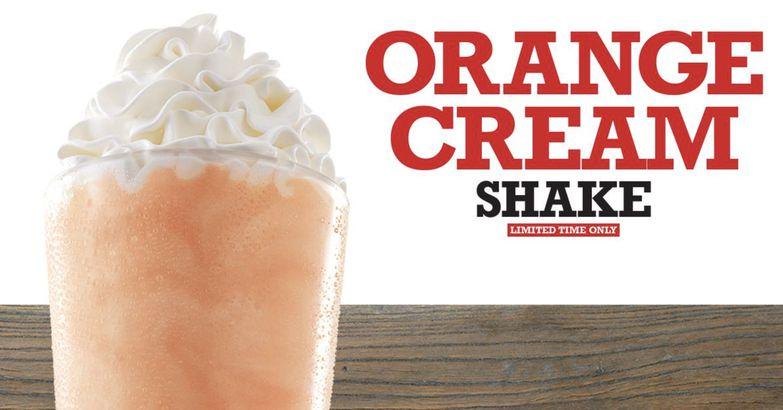 Arby's Orange & Cream Shake