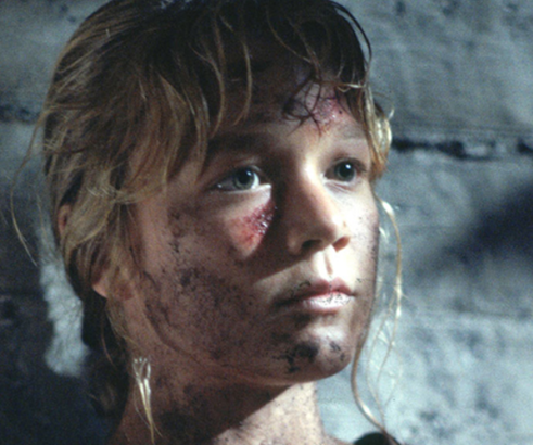 Ariana Richards as a child