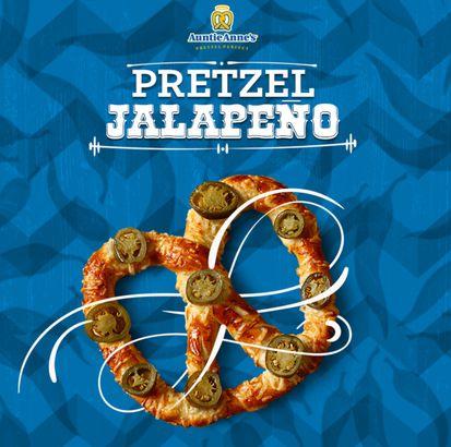 Auntie Anne's Jalapeño Pretzel