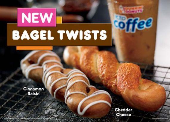 Dunkin's Bagel Twists