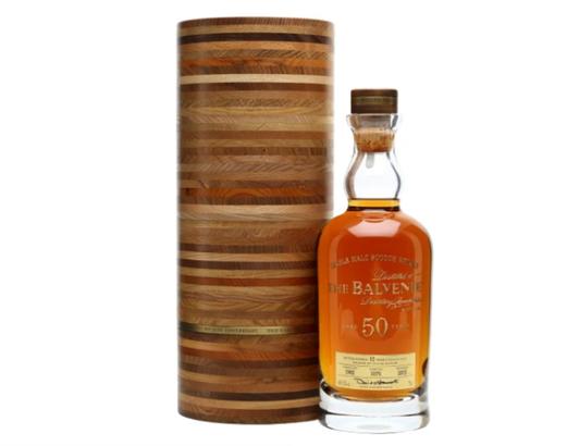 The Balvenie 50-year scotch