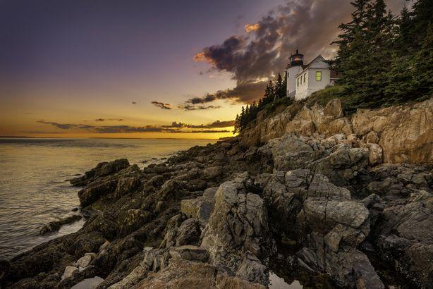 Bass Harbor Head lighthouse, Acadia