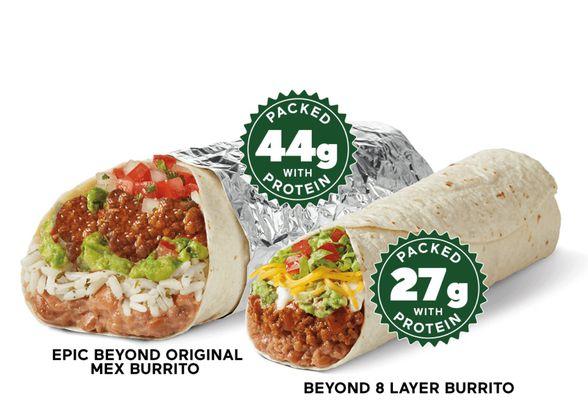 Del Taco's Epic Beyond Original Mex Burrito
