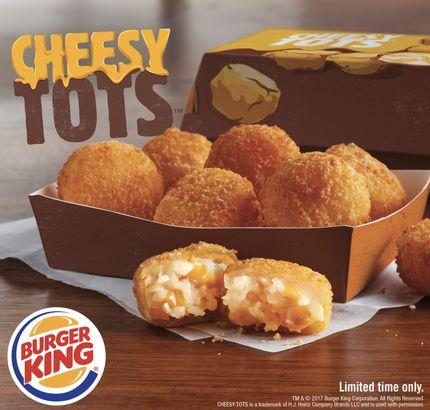 Burger King's Cheesy Tots