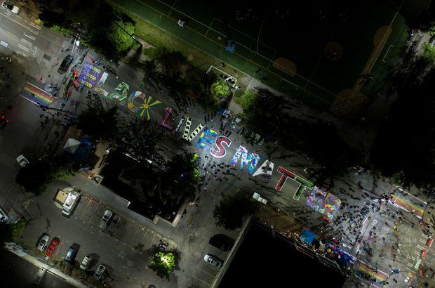 BLM drone image