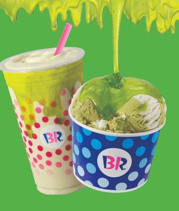 Baskin Robbins' Summertime Lime