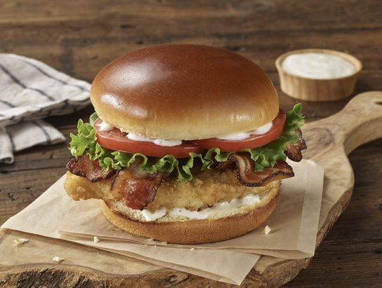 Boston Market's Crispy Chicken BLT Sandwich
