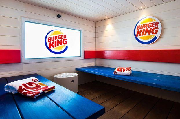 Finland Burger King sauna