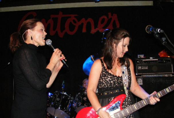 Belinda Carlisle and Kathy Valentine