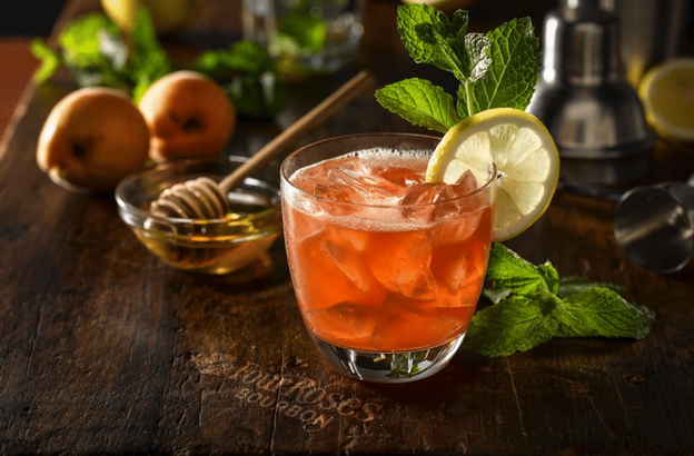 Hey, Honey cocktail