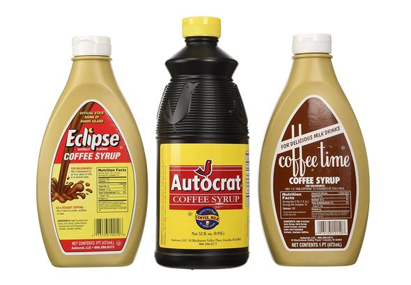 Coffeemilk syrups