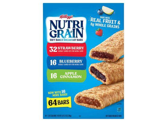 Nutri-Grain Bars 64 Pack