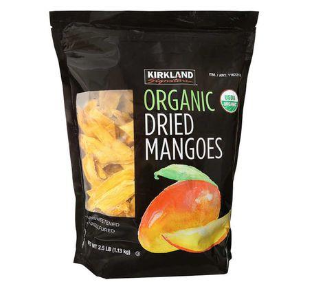 Kirkland Signature Organic Dried Mangoes