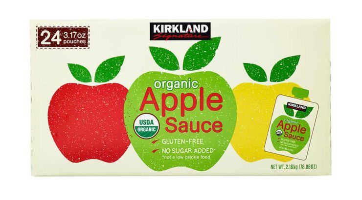 Kirkland Signature Organic Applesauce