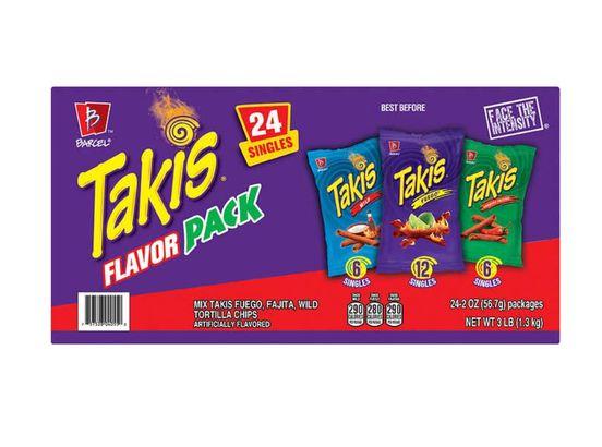 Barcel Takis Tortilla Chips Flavor Pack