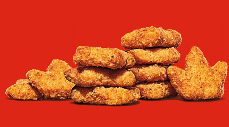 Burger King's Crown-Shaped Nuggets