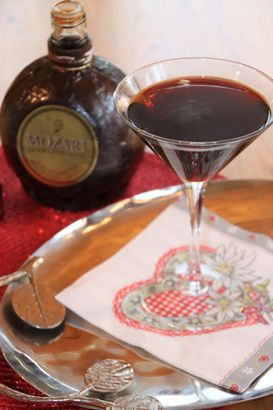 Mozart Chocolate Martini