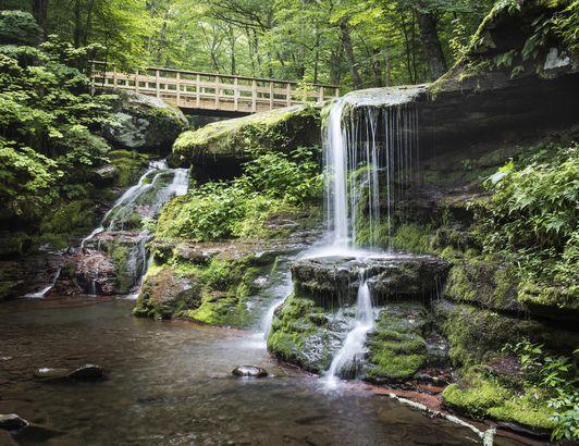 Diamond Notch Falls, Catskills
