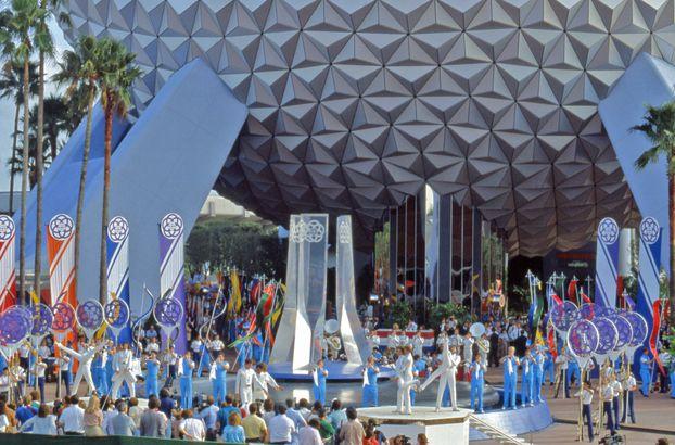 Disney World's Epcot Opens