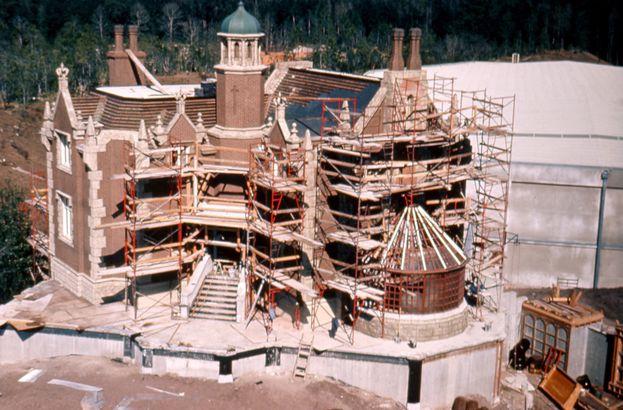 Disney World's Haunted Mansion Under Construction