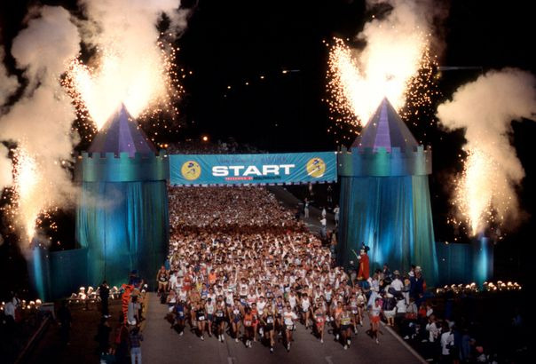 The First Walt Disney World Marathon